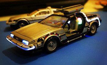 Le custom du jour: La DeLorean DMC-12 de Retour vers le futur 2