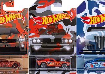 Une série Hot Wheels Camouflage dans les magasins Walmart aux USA