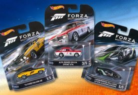 Forza déboule enfin dans la collection Hot Wheels Entertainment de 2016