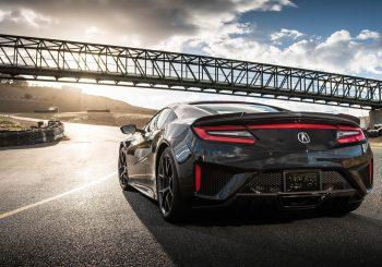 Une Acura NSX pour Super Treasure Hunt de 2017