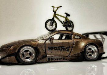 Encore un magnifique custom made in Pisut Masanong sur une Nissan GTR
