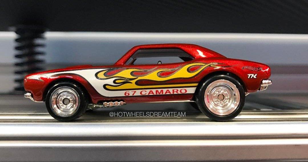 hot wheels de nouvelles images de la camaro 67 super treasure hunt. Black Bedroom Furniture Sets. Home Design Ideas
