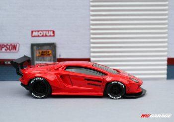 Admirez la Lamborghini Aventador Wide Body custom de NW Garage