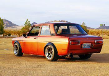 Découvrez un custom de malade avec une Datsun 510 faite par Angga Bmj