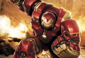 Hot Wheels Marvel Iron Man and Hulk Buster Vehicles