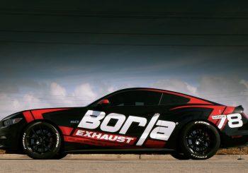 Une Mustang aux couleurs de Borla comme Super Treasure Hunt de 2018