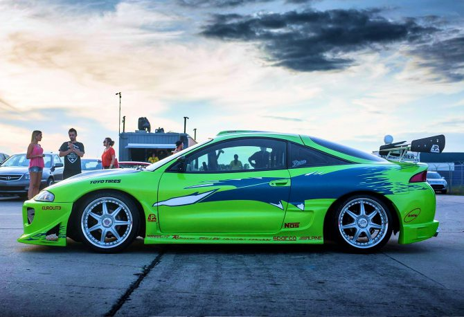 Hot Wheels : Une Mitsubishi Eclipse pour une collection Fast and Furious ?