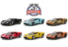 La Ford GT Racing Heritage Series 1 dévoilée par Greenlight Collectibles