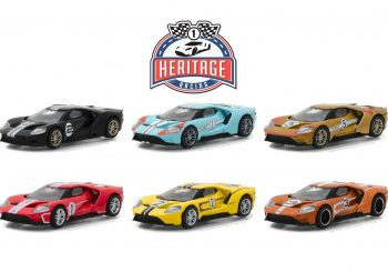 La Ford GT Racing Heritage Series 1 dévoilée par Greenlight Collectibles