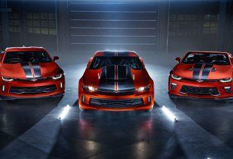 Des Chevrolet Camaro aux couleurs d'Hot Wheels en 2018