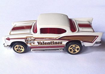 Hot Wheels : Une Chevy de 1957 pour la Saint Valentin