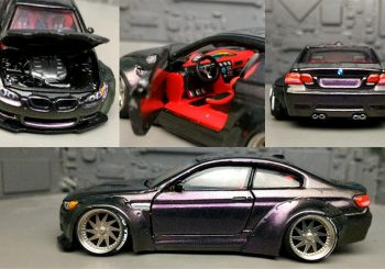 Customisation : Une superbe BMW M3 E92 Liberty Walk par Angga Bmj