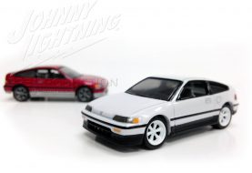 Des Honda CRX dans la collection Street Freaks de Johnny Lightning