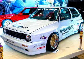 Hot Wheels : Une Golf MK2 Custom Pandem par Angga Bmj‎