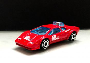 Hot Wheels : Une Lamborghini Countach Safety Car arrive bientôt