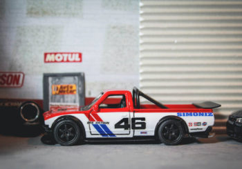 Hot Wheels Customs : Un pickup Datsun 620 BRE par NW Garage