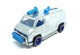 Hot Wheels : Découvrez le Punisher Van plus en détails