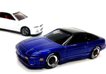 Des Nissan Skyline R34 et 240SX chez Johnny Lightning cet été