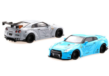 Les Nissan GT-R Liberty Walk de Mini GT sont à tomber par terre