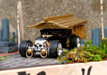 Hot Wheels Customs : Un Corbillard Bone Shaker par AB-Factory