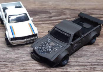 Hot Wheels Customs : Un Datsun 620 style Bosozoku par Pisut Masanong