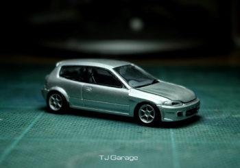 Le custom du jour : Une Honda Civic EG6 NBC Racing par TJ Garage