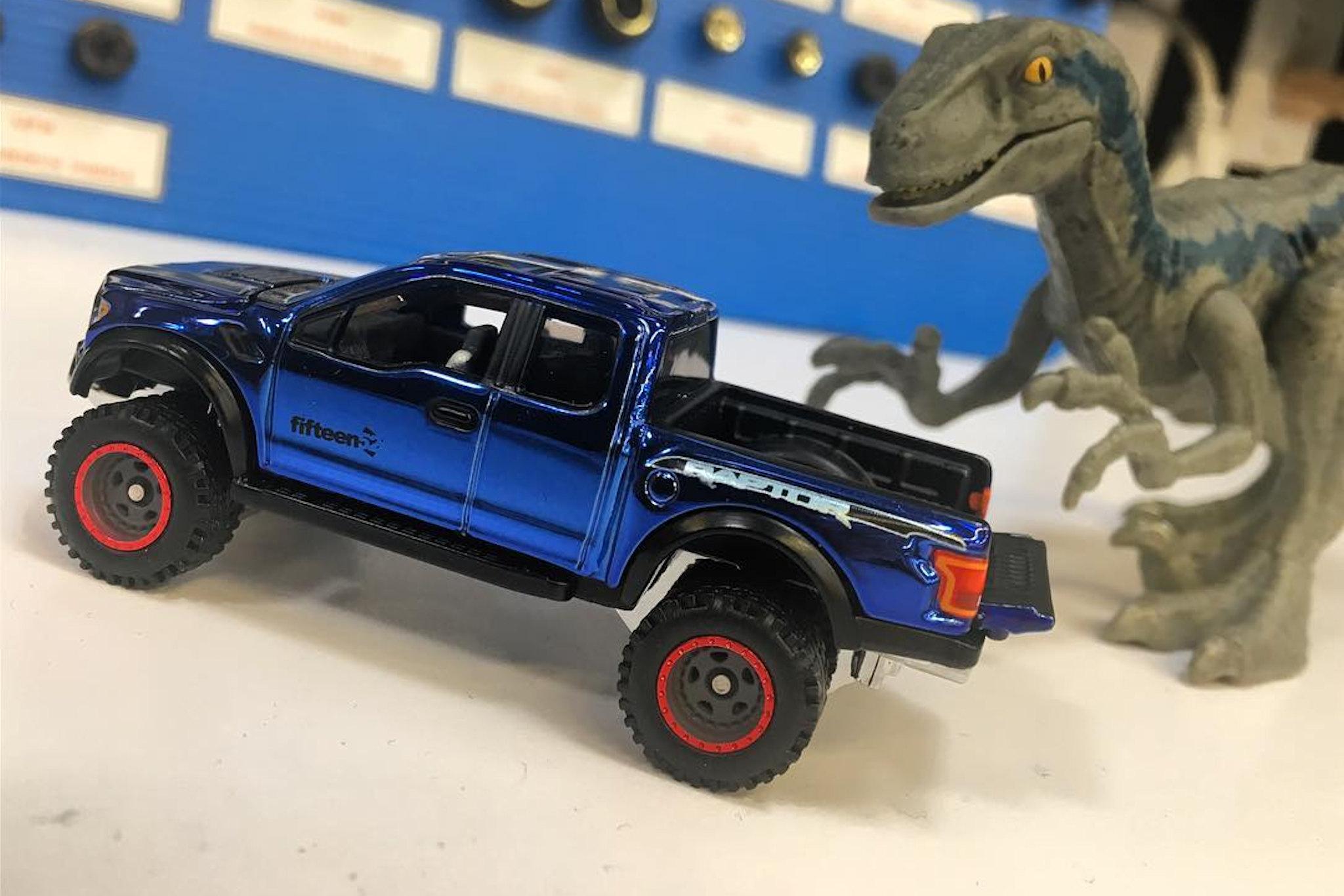 Hot Wheels : Mattel dévoile un superbe Ford Raptor Fifteen52
