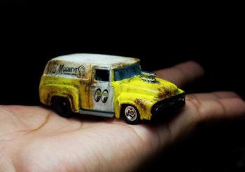 Le custom du jour : Un 56 Ford Truck Mooneyes par Atyd Pradana