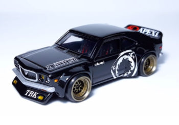 Le custom du jour : Une Mazda RX3 par Artcustoms164