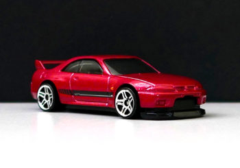 Hot Wheels : Une 3ème version de la Nissan Skyline R33 GT-R arrive