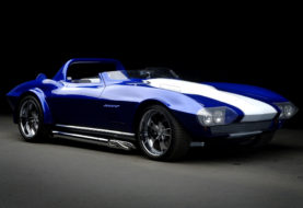 Une Corvette Grand Sport Roadster en Super Treasure Hunt de 2019