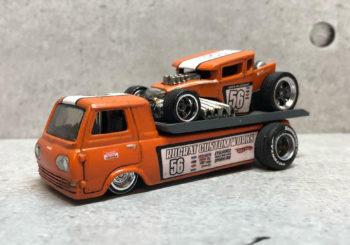 Le custom du jour : Transporteur Econoline et Bone Shaker par Yanchi1983