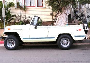 Découvrez la première version du Jeepster Commando de 67